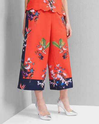 Ted Baker TESSEY Tropical Oasis culottes