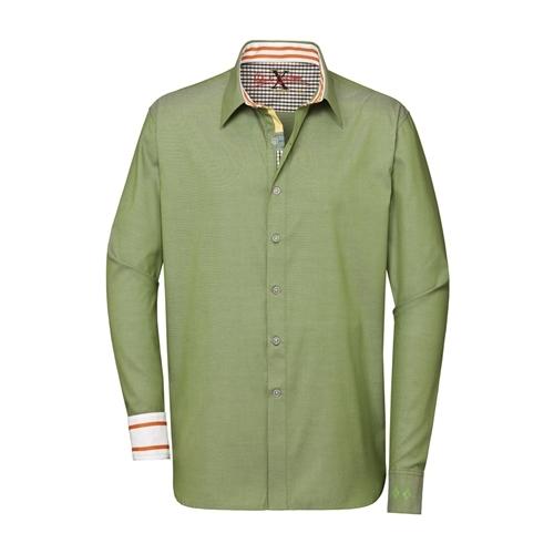 Robert Graham - Men's Forest Green D.A. Button Down Shirt