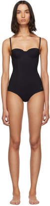 Dolce & Gabbana Black Cup One-Piece Swimsuit