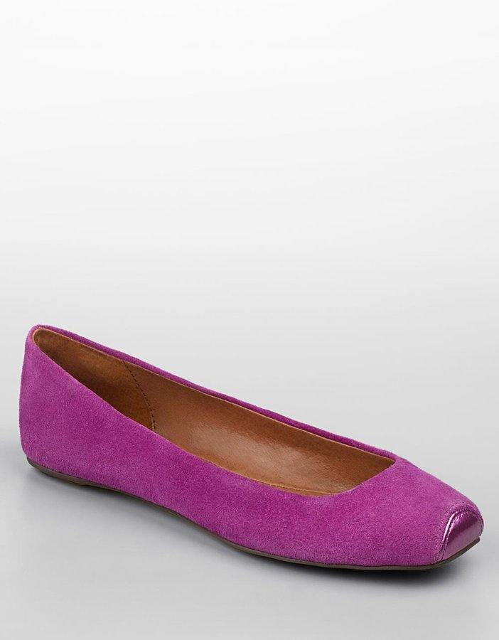 Steve Madden Snipp Capped Square-Toe Flats