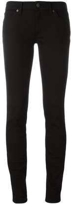 Burberry Skinny Fit Low-Rise Deep Black Jeans