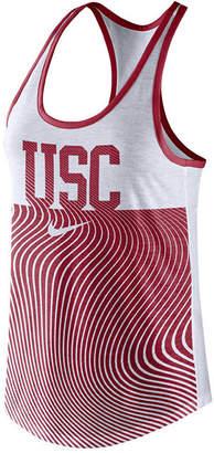 Nike Women's Usc Trojans Dri-Blend Tank Top