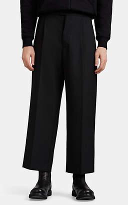 Mens Wide Leg Pleated Trousers Shopstyle Australia