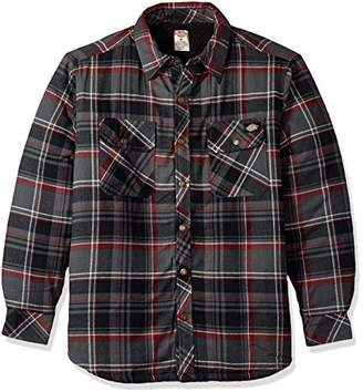 Dickies Men's Relaxed Fit Sherpa Lined Overshirt