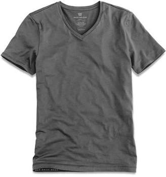 Mack Weldon Silver Vneck Undershirt in Stealth Grey