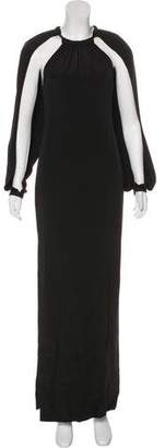 Tom Ford Long Sleeve Silk Gown