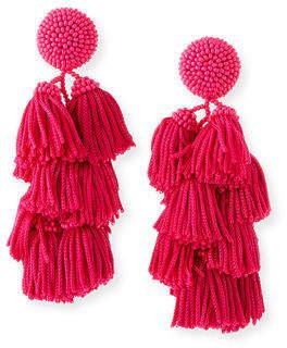 Sachin + Babi Chacha Tassel Earrings