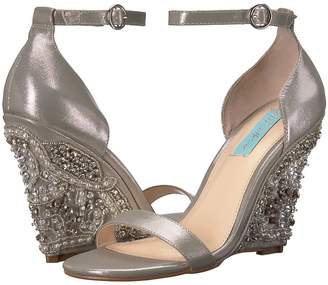 Betsey Johnson Blue by Alisa Women's Wedge Shoes