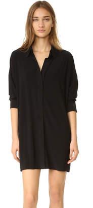Norma Kamali Kamali Kulture Box Shirtdress $185 thestylecure.com