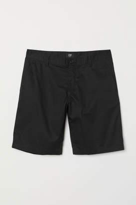 H&M Short Chino Shorts - Black
