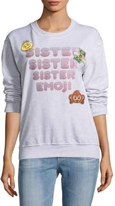 Paul & Joe Sister Women's Iconic Emoji Pullover