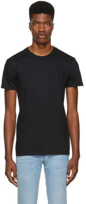 Naked & Famous Denim Denim Black Ringspun Cotton T-Shirt