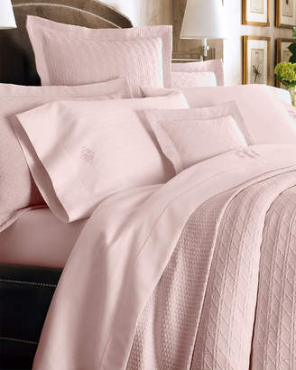 Sferra Full Marcus Collection 400 Thread-Count Dotted Sheet Set