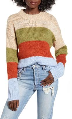 J.o.a. Multi Stripe Sweater