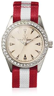 Toy Watch Women's Quartz Fabric/Steel Watch