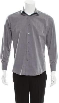 Lanvin Long Sleeve Button-Up Shirt