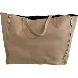 Celine Gusset leather tote