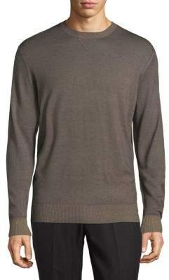 Thomas Dean Crewneck Wool Sweater