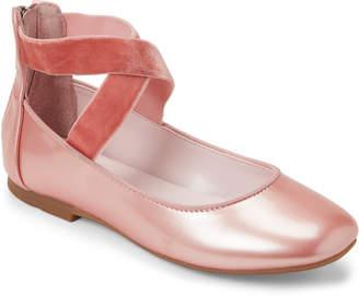 Nina Kids Girls) Blaush Marissa Elastic Strap Ballet Flats