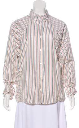 Petersyn Oversize Button-Up Top