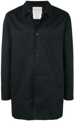 Stephan Schneider short overcoat