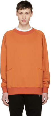 Diet Butcher Slim Skin Orange Out Pocket Sweatshirt