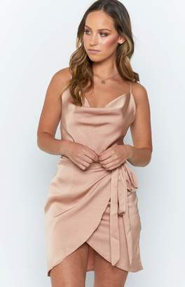 Beginning Boutique Regina Dress Champagne