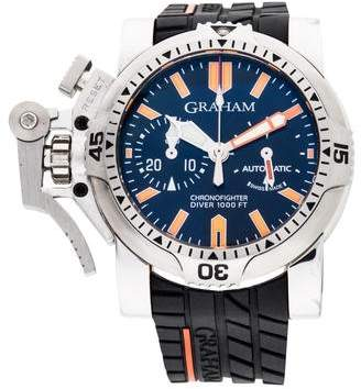 Graham Chronofighter Oversize Diver Watch
