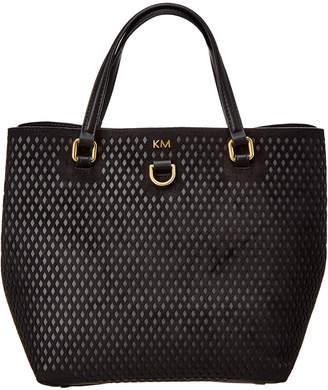 Karen Millen Diamond Cut Mini Bucket Bag
