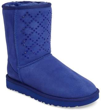 UGG Australia Classic Short - Crystal Genuine Shearling Lined Boot (Women) $264.95 thestylecure.com