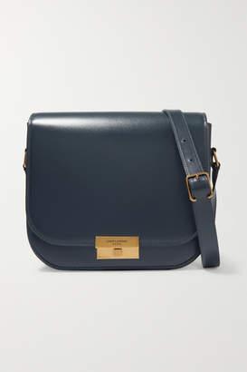 Saint Laurent Betty Leather Shoulder Bag - Gray