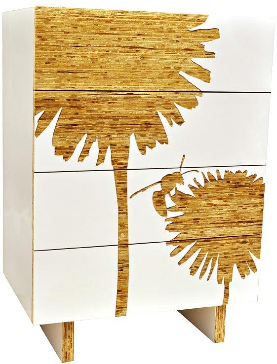Iannone Design Dandelion Tall Graphic Dresser