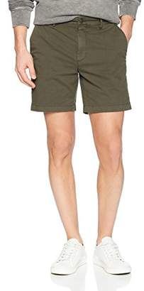 "Goodthreads Men's 7"" Inseam Flat-Front Stretch Chino Short"