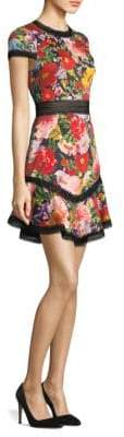 Alice + Olivia Rapunzel Fit-&-Flare Dress