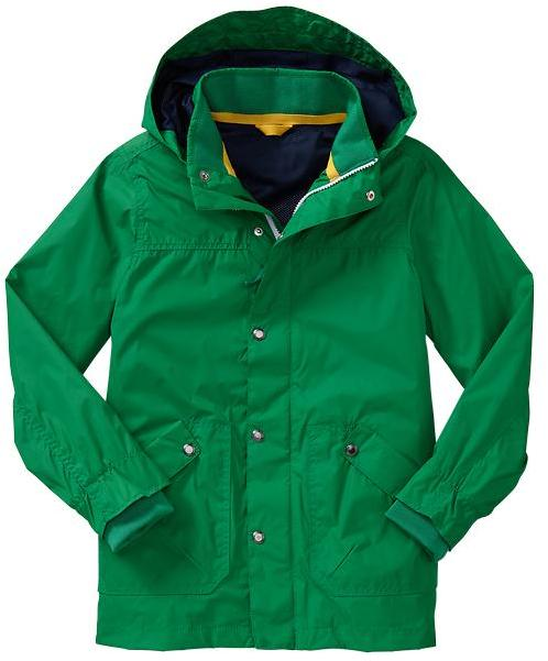 Gap Green rain jacket