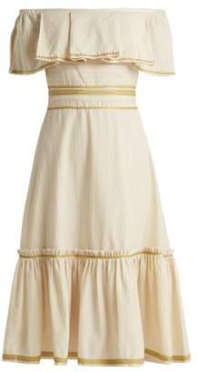 BEIGE Zeus + Dione - Leukes Cotton Dress - Womens