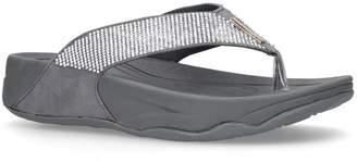 Carvela Diamanté Embellished Sandals