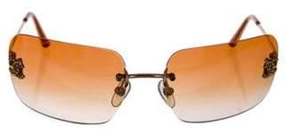 Chanel Rimless CC Sunglasses