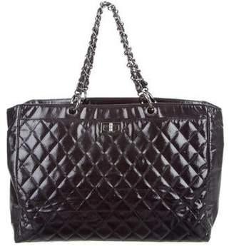 Chanel Diamond Shine Reissue Tote