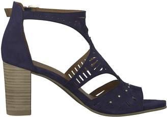 Tamaris Ela Leather High Heeled Ankle Strap Sandals
