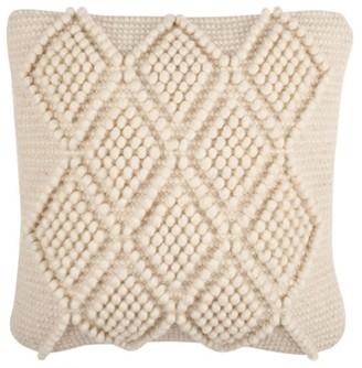 Safavieh Space Dye Geometric Plush Pillow
