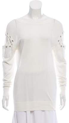 IRO 2016 Aluna Cold-Shoulder Sweater