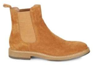 Saks Fifth Avenue Roma Suede Chelsea Boots