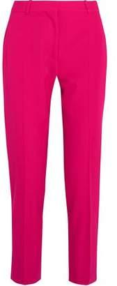 Stella McCartney Cropped Wool-Twill Straight-Leg Pants