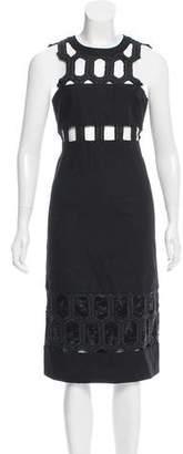 Jonathan Simkhai Cutout Midi Dress
