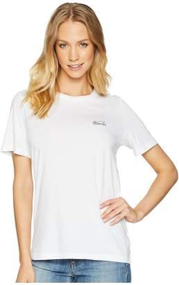 AG Adriano Goldschmied Gray Boy Tee - Wander Embroidery Women's T Shirt