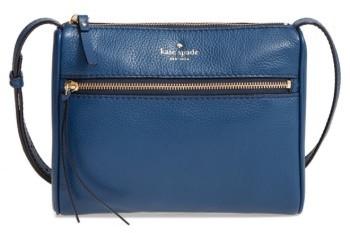 Kate Spade New York Young Lane - Cayli Leather Crossbody Bag - Blue