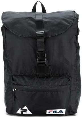 Fila logo buckled backpack