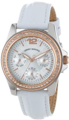 Tommy Bahama Swiss Women's TB2143 Riviera Swarovski Crystal Bezel Dial Multi-Function Watch