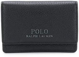 Polo Ralph Lauren foldover logo wallet